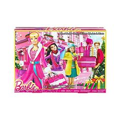 Barbie Advent Calendar with Barbie Accessories 24 Surprise Items incl Shoes Boots Purses Jewellery Modern Christmas Decor, Christmas Crafts, Christmas Decorations, Num Noms Toys, Christmas Tree Ugly Sweater, Advent Calendars For Kids, Made To Move Barbie, Barbie Theme, Barbie Toys
