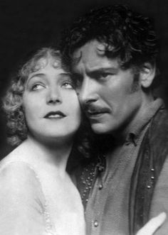 Ronald Colman with frequent co-star, Vilma Bánky
