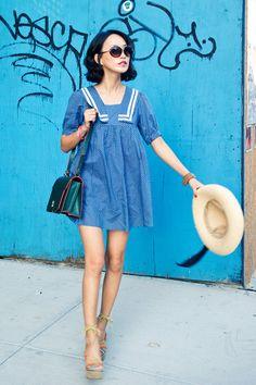 Misspouty-dress-misspouty-hat-shoulder-bag-martine-sitbon-bag