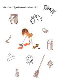 Werkblad Floddertje schoonmaken
