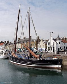 Anstruther Harbor, Fife, Scotland