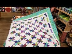 (40) Let's Make a Stardust Quilt! Only Takes 2 Different Blocks!? - YouTube