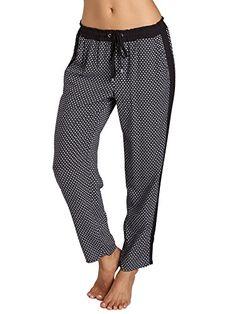 Splendid Women's Harbor Geo Print Pant, Black, Small >>> Click image for more details.