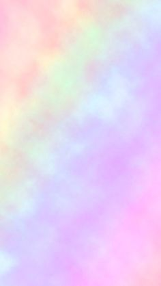 Rainbow pastel iPhone wallpaper