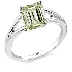 RINGJEWEL 2.42 ct VS2 Emerald Moissanite Solitaire Silver Plated Engagement Ring Light Green Color Size 7. This Is Real Moissanite Ring. Order Ships Within 1 Day From India With India Post Registered Airmail ( 2-3 Weeks Delivery). Natural Diamond Hardness Is 10 & Moissanite Hardness Is 9.25. Diamond & Moissanite Maintains Its Clarity And Sparkle Throughout A Lifetime. A Moissanite That Is An Actual Lab Created Simulated Diamond And This Is One Of The Finest Diamond Alternative Products…