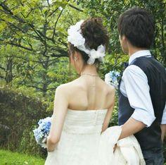いまどき結婚式のオシャレなナチュラルヘアメイク|花嫁の大人可愛いを叶えるゆるスタイル♡