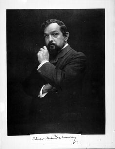 Claude Debussy (1862 – 1918) was a French composer. He was one of the most important figures in music at the turn of the last century; his music represents the transition from late-romantic to 20th century classical.  Debussy's most dramatic contribution to music history was his disregard for traditional chord structures and tonality. He is one of the most important exponents of the whole tone scale in classical music history.
