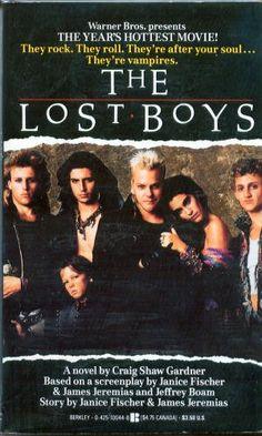 Lost Boys by Craig Shaw Gardner, http://www.amazon.com/dp/0425100448/ref=cm_sw_r_pi_dp_9JH4qb06MDG7J    BF # 98 = $39