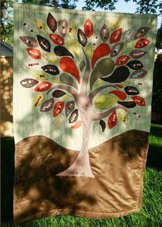 family tree quilt | family tree quilt | For Fall