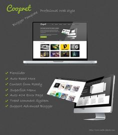 Coopret Blogger template is the perfect Blogger theme for creative person, agencies, freelancers, or small businesses.