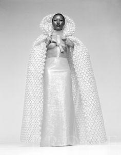 Grace Jones, Paris 1969 by Herman Leonard