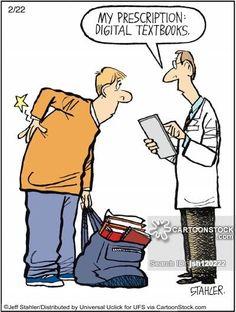 'My prescription: digital textbooks.'