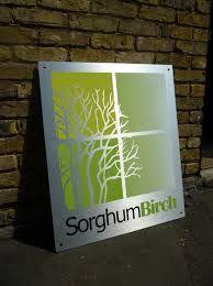 brushed aluminium signage - Google Search