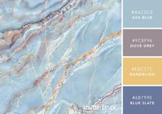 101 Color Combinations to Inspire Your Next Design – Icy Stone Color Palette