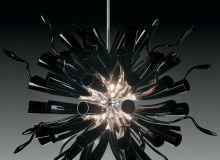 modern Murano chandelier by Andromeda Murano!  Special price!!!!