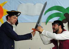 """""""Las aventuras de Gastón el pirata"""" se presentará en el Teatro Espressivo como parte de su programación de teatro infantil."""