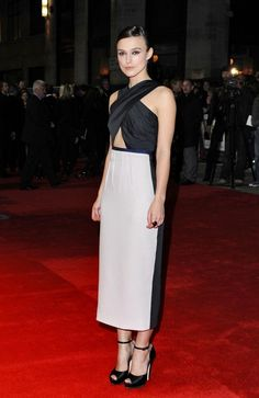 Keira Knightley - A Dangerous Method Premiere at the 55th BFI London Film Fest
