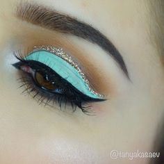 7 Simple Skin Care Tips Everyone Can Use Princess jasmine eye makeup glitter Tiffany blue eyeshadow Wedding Makeup Blue, Dramatic Wedding Makeup, Dramatic Eye Makeup, Dramatic Eyes, Wedding Blue, Wedding Nails, Trendy Wedding, Eye Makeup Glitter, Blue Eye Makeup
