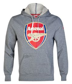 Arsenal Fan Hoodie Grey Arsenal London Official Merchandise Available at  www.itsmatchday.com c78a4510d6b