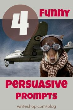 Ho-hum persuasive writing prompts have nothing on pet dragons, animals in clothing, and parasailing with Grandma! These humorous topics will help kids practice writing to convince, but instead of boring them, each prompt offers a touch of silliness.