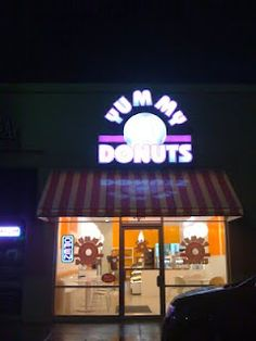 Yummy Donuts - The only place in town that has Pierce's favorite donut.