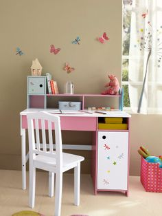 La vie en rose on pinterest bebe papillons and tour de lit - Bureau vertbaudet fille ...