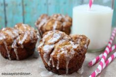 Eat Cake For Dinner: Mini Monkey Bread from Scratch with Vanilla Glaze Candy Recipes, Cupcake Recipes, Cupcake Cakes, Dessert Recipes, Cupcakes, Monkey Bread From Scratch, Mini Monkey Bread, Cookie Cake Pie, Eat Breakfast
