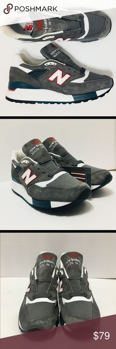 """New Balance 998 Made in USA Suede YOU ARE LOOKING ATAORIGINAL PAIR OFNew Balance 998 Made in USA   Suede outside Color: Gray Red White  Size 7.5  CONDITION: BRAND NEW WITH """"MADE IN USA"""" TAG, WITHOUT BOX  OVERALL CONDITION: 10 / 10 100% AUTHENTIC!  I NEVER SELL FAKES AND NEVER WILL!  100% AUTHENTIC NEW BALANCE PRODUCT LOOK AT ALL MY PICS! I HAVE NOTHING TO HIDE! New Balance Shoes Sneakers"""