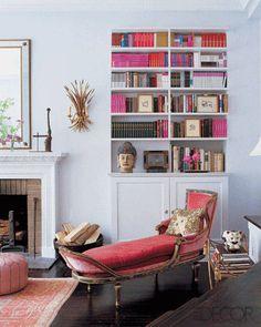 Candace Bushnell's Living Room - elledecor