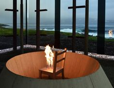 THE STEILNESET MEMORIAL  A MEMORIAL TO THE VICTIMS OF THE WITCH-HUNTS IN VARDØ  VARDØ/NORVEGIA/2011    Architekturbüro Peter Zumthor  Principal Architect