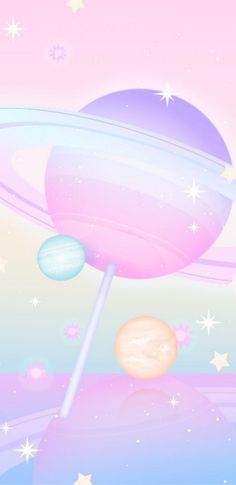 Space Phone Wallpaper, Pink Wallpaper Iphone, Kawaii Wallpaper, Wallpaper Backgrounds, Colorful Backgrounds, Space Backgrounds, Purple Wallpaper, Pink Iphone, Iphone Phone