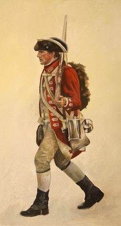 Day 16: My ancestor was a Private in the 33rd Regiment of Foote during the American Revolution. He was from Otley in Yorkshire.