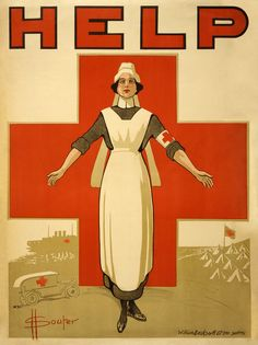 Red Cross Nurse WWI