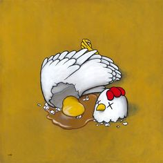 CHICKEN / EGG by luke chueh