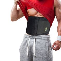 d93ab98a07 Just Fitter Premium Waist Trainer Trimmer Ab Belt For Men Women More Fully  Adjustable Than Other