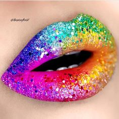 Pride-perfect lip inspiration from @theminaficent!