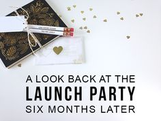 The details, work, cost, and results of my launch party week six months ago! Great ideas for a rebrand launch