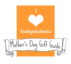 Support Independents gift guide for Mother's Day!
