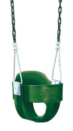 Black Friday Deal Bucket Toddler Swing with chain from Playtime Swing Sets a div of Creative Playthings LTD. Cyber Monday