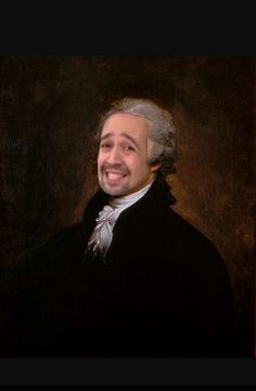 Our founding father, Lin Manuel Miranda