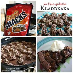 No Bake Desserts, Delicious Desserts, Dessert Recipes, Swedish Recipes, Sweet Recipes, Good Food, Yummy Food, Food Humor, Food Inspiration