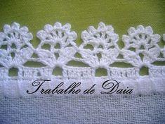 Crochet : Borde # 7 - YouTube* tutorial in spagnolo *