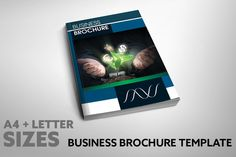 Bussiness Proposal Brochure Template by Graphicslide on Creative Market