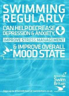 so it all makes sense now!!! Why we swim :)... and also because you're too exhausted for stress