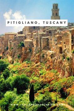 Pitigliano I Tuscany I ITALY #ItalyTravel