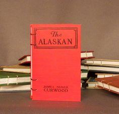 The Alaskan Coptic Bound Notebook Sketchbook Journal Scrapbook Guestbook. $24.00, via Etsy.