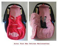 Einschlagdecke / Decke für Maxis Cosi und Co / babyschalen nähen