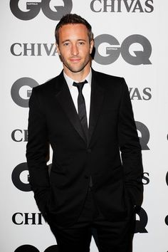 Alex O'Loughlin at the 2011 GQ Australia Man Of The Year awards back in November!