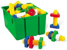 Jumbo Nuts & Bolts - Lakeshore Learning - Fine motor skills  - infants and toddlers
