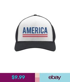 856b0a6ce5e Hats America 4Th Of July Usa Patriotic Independence Day Trucker Hat Mesh Cap   ebay